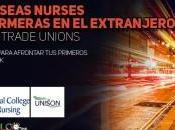 Overseas nurses: enfermeras extranjero NINº Trade Unions