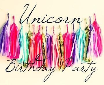 Unicorn Party Decor Ideas - Fiesta Temática : Unicornios.