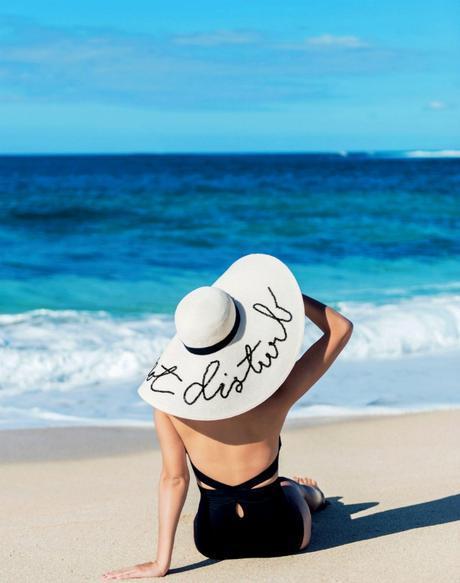 4 Tutoriales Sombreros De Playa Con Frases Paperblog