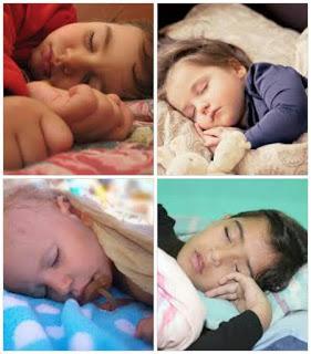Cuando llega la noche y los miramos dormir