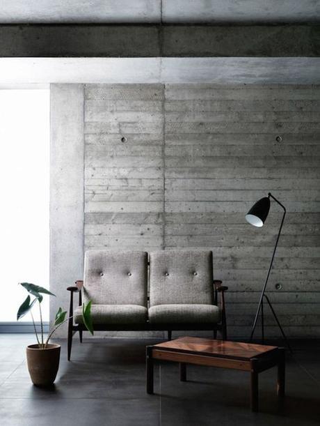 Ambientes de estilo minimalista paredes de cemento - Paredes de cemento ...