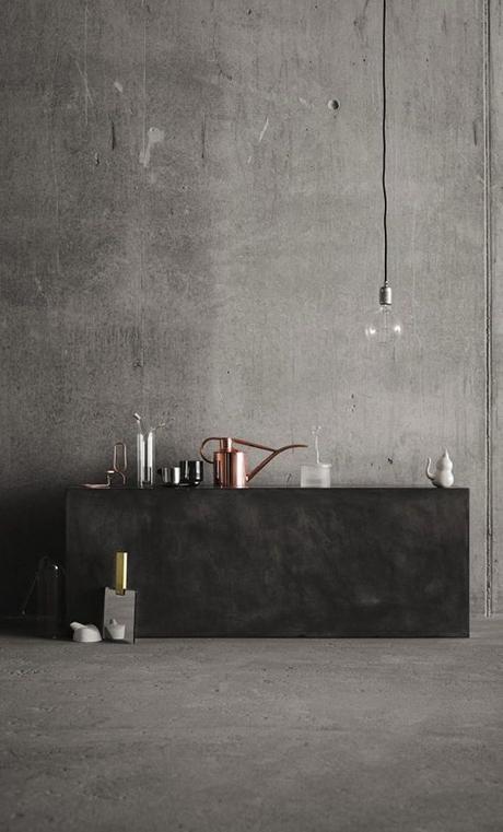 Ambientes de estilo minimalista paredes de cemento paperblog - Paredes de cemento ...