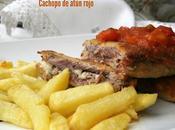 Cachopos atún rojo queso Cabrales jamón ibérico