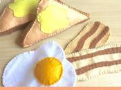 DIY: desayuno fieltro.