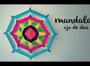 Mandala tejido DIOS