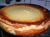 Tarta queso bizcocho