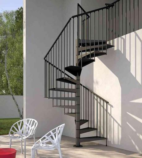 5 modelos nicos de escaleras de caracol enam rate for Como hacer una escalera caracol metalica