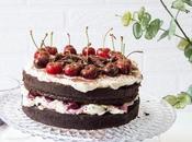 Tarta chocolate cerezas