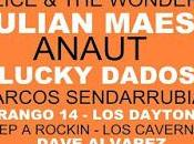 Mambo Jambo, Julián Maeso, Twanguero, Anaut Durango edición Rockin Fest