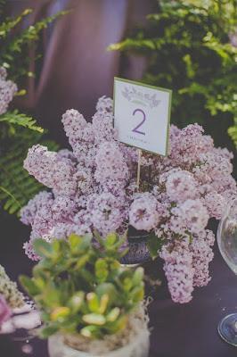 Lilac & Purple Wedding Decor Ideas - Lila & Púrpura Ideas para Bodas.
