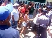 Protestó contra Castro vecinos quedaron callados