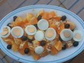 Remojón naranja bacalao
