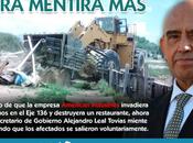 Gobierno Carreras quiere entregar terreno empresa relacionada Labastida
