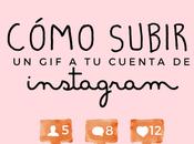Subir cuenta instagram