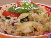 Ensalada Quinoa Pepino