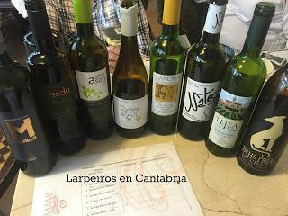 Presentación Vinos Blancos de Cantabria 2015