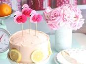 Tarta Limonada rosa Cake Pink Lemonade