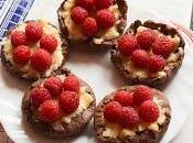 Tartaletas Chocolate Crema Pastelera