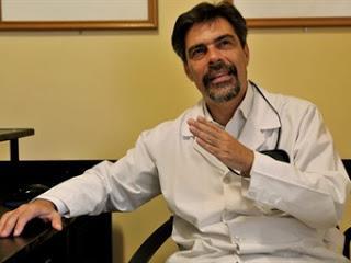Carlos Damin, en la escuela hablar mucho del cuidado de la vida