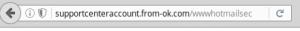 Un ejemplo cualquiera de phishing