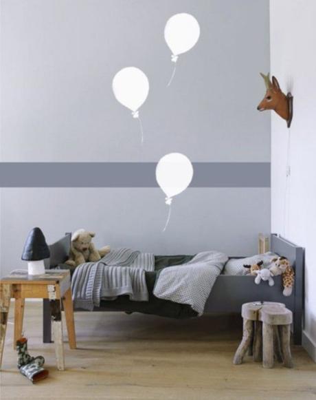 Ideas divertidas para pintar habitaciones infantiles paperblog - Pintar habitaciones infantiles ...