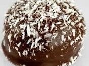 Receta, trufas coco chocolate