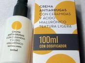 Probamos nueva crema antiarrugas ceramidas Deliplus