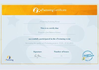 Increasing the quality of eTwinning projects