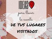 Mejores Ideas para Llevar Cuenta Lugares Visitado