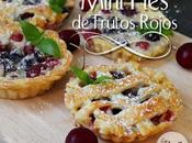 Mini pies frutos rojos cerezas berry cherry small