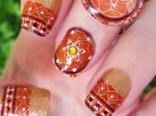 "Manicura placa ND012 ""Irregular Patterns"" Nicole Diary"
