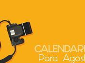 Calendario agosto 2016