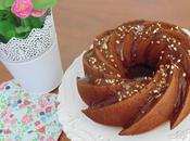 Bundt cake chocolate avellanas