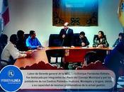 Para iniciar mantenimiento vías acceso: POBLADORES C.P. HUALCARÁ, MONTEJATO UNGARÁ PACTAN ACUERDO...