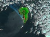 Incendio forestal Palma (Canarias): Imagen satélite