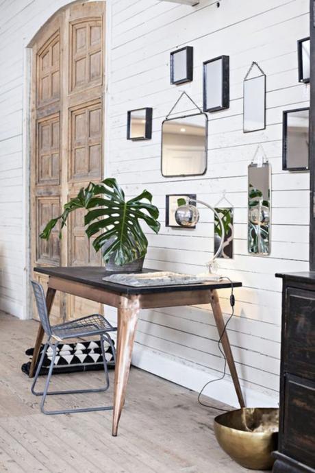 Ideas para decorar las paredes con espejos paperblog - Paredes con espejos ...