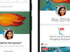 Facebook celebra espíritu Olímpico