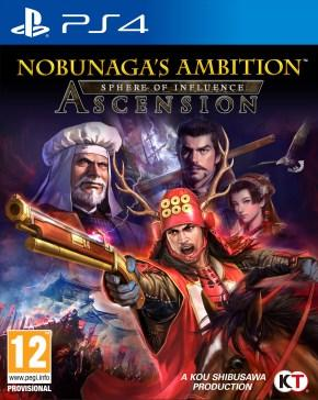 Nobunaga's Ambition Sphere of Influence – Ascension caratula