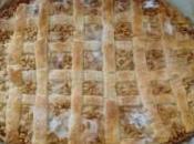 Receta coca hojaldre crema pastelera