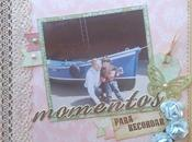 Momentos para Recordar, Mini álbum Scrapbook