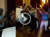 puñetazo limpio entre policías vecinos Habana Vieja