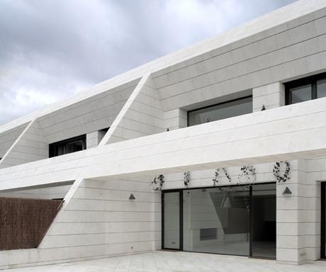 Materiales en fachadas fachadas en piedra paperblog - Piedra caliza fachada ...