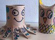 Manualidades rollos vacíos papel higiénico