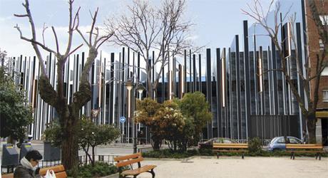 Edificios singulares dise ados por a cero paperblog for Calle jardines getafe