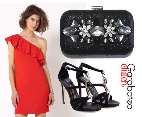 Complementos para un vestido negro para boda