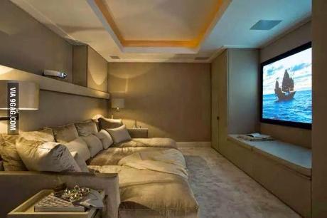 Salas de cine en casa paperblog - Sala de cine en casa ...