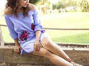 Vestido Rosas Bordadas-Embroidered Roses Dress