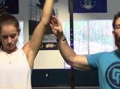 Músculo Trapecio Equipo Barra Guía para realizar P...
