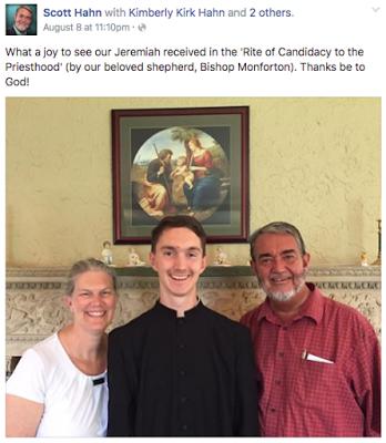 El hijo del ex-pastor Scott Hahn está cerca de ser ordenado como Sacerdote