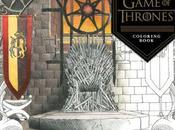 Vistazo nuevo libro para colorear Juego Tronos